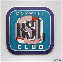 Morwell RSL Club Coaster (B378)
