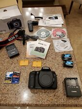 Canon Eos 7D 18.0 Mp Digital Slr Camera - Black (Body Only), plus accessories