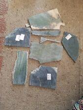 Jade Slabs For Cabbing Lot 6 Slabs Plus Scraps