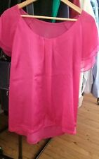 Waist Length Blouse Satin Unbranded Tops & Shirts for Women