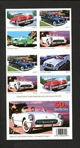 America on The Move- Booklet Pane 20 Stamp 2005 Issue