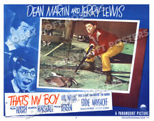 THAT'S MY BOY LOBBY SCENE CARD # 5 POSTER 1951 JERRY LEWIS DEAN MARTIN
