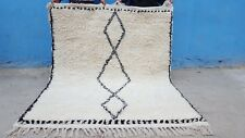 Handgeknüpft Berber Teppich BENI OURAIN RUG  120 cm x 180 cm Handmade 100% wolle