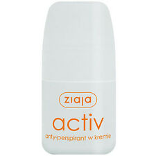 13,32eur/100ml Ziaja Activ antitranspirant-CREMA roll-on Deodorante 60 ML