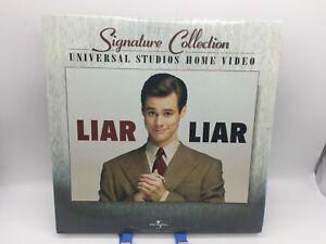 """Liar Liar"" Signature Collection Laserdisc LD - Jim Carrey"