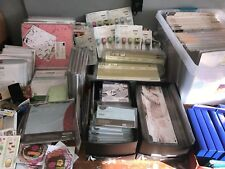 Huge Box of Misc Creative Memories LOT Paper Stickers Tools Ribbon Kits Album
