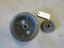 John Deere A A74R A170R governor gear set - Early unstyled - open fan A