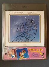 New Disney Paint A Cel Beauty and the Beast. Daniel Rippberger Artist signature