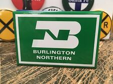 classic BURLINGTON NORTHERN railway RAILROAD full backed refrigerator RR MAGNET