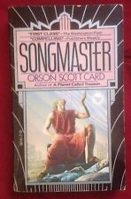 Songmaster by Orson Scott Card 1981 SIGNED and inscribed by Author
