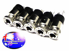 From OZ Quality 5PC 3.5mm 1/8 Female Stereo Solder Headphone Connector Socket FP