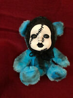 OOAK Sad Stitches Teddy Bear Creepy Horror Doll Art Christie Creepydolls