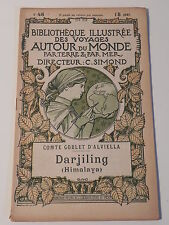 DARJILING HIMALAYA DARJEELING BIBLIOTHEQUE ILLUSTREE DES VOYAGES AUTOUR DU MONDE