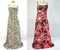 Boden stunning print cotton maxi dress 6 8 10 NEW long summer