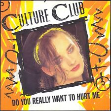 CULTURE CLUB DO YOU REALLY WANT TO HURT ME 45T SP 1982 VIRGIN 104.708 NEUF MINT