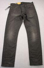 RALPH LAUREN Sullivan Mens Black Distressed Slim Logo Jeans NWT 31 x 30  $145