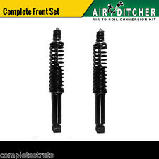1997-2002 Ford Expedition 4WD Front Air Bag To Springs Conversion Kit Pair x2
