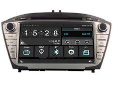 Car DVD Headunit Stereo Navi Radio BT For Hyundai ix35 Tucson 2009 Free camera