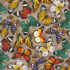 Fabri-Quilt You Bug Me Butterfly 100% cotton Fabric by the yard