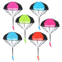 3X Free Hand Throw Mini Soldier Parachute Toy Classic Flying Toys for Kids Out
