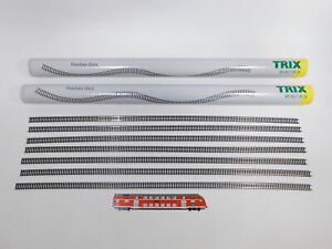 CT656-5# 27x Minitrix Spur N 14901 flexibles Gleis/Gleisstück 73 cm, NEUW+OVP
