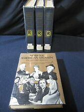 Notable American Women 1607 - 1975 - Set of 4 Volumes - Includes Shipping!!