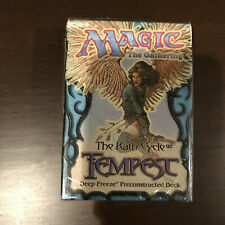 Magic the Gathering Tempest Deep Freeze Preconstructed Deck - MTG - SEALED