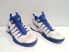 Nike Zoom Hypershift Men's Shoes Size 14 White Blue Basketball 856488-140