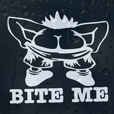 Bite Me Funny Rude Car Window Windscreen Body Panel Laptop Decal Vinyl Sticker