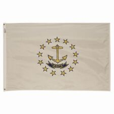 5x8 ft RHODE ISLAND The Ocean State OFFICIAL FLAG Outdoor Nylon Made in USA