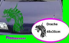 Tribal Drache nr2 Motorhaube style tuning  Aufkleber Sticker leider JDM OEM