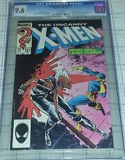 Uncanny X-Men #201 CGC 9.6 WHITE Pages - 1st Appearance of Cable