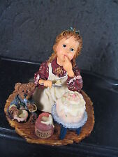 Boyds Yesterday's Child SARAH ANNE W/ DUNCAN ICING ON THE CAKE MIB  Ed 1E