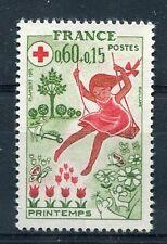 FRANCE, 1975, timbre 1860, CROIX ROUGE, Le printemps, neuf**