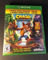 Crash Bandicoot N. Sane Trilogy [ Bonus Edition ] (XBOX ONE) NEW