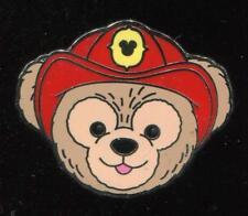 DLR 2012 Hidden Mickey Series Duffy's Hats Fireman Disney Pin 91266