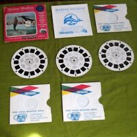 View Master Reels Marine Studios Marineland FL 3 Reel Set w/ Env, Booklet, Sleev