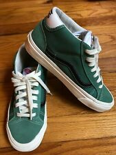Vans Green OG Mid Skool 37 LX Sneakers US 5.5 Women's 6.5  7  US