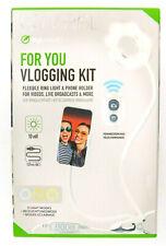 DigiPower Go Viral For You Vlogging Kit DP-VLR3 Live Streaming Ring Light- Video
