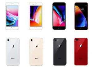 """Apple iPhone 8 4.7"""" 64GB GSM (Unlocked) For AT&T T-Mobile Smartphone Good"""