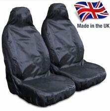 VAUXHALL ASTRA VAN (06+) HEAVY DUTY WATERPROOF FRONT BLACK SEAT COVERS 1+1