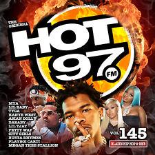 Hot 97 vol. 145 Blazin Hip Hop & Rnb Official Cd