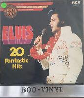 """ELVIS PRESLEY~ """"20 FANTASTIC HITS"""" VINYL LP RECORD PL 42274 EX / VG"""