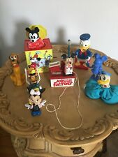 Lot Of Vintage Disney Mickey Mouse Pluto Donald Duck Minnie