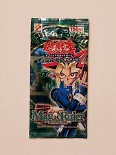 Vintage Konami YU-GI-OH Japanese Magic Ruler Sealed Pack