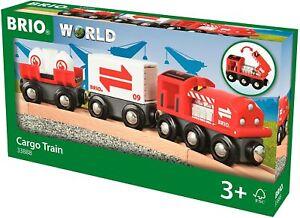 Brio Train 33888 - Freight Train With Frachtladung