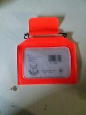 D&H Products Single Hunting License Holder Orange