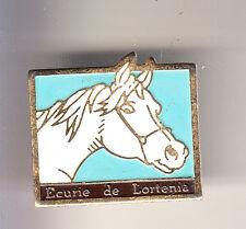 RARE PINS PIN'S .. SPORT CHEVAL HORSE PONEY ECURIE LORTENIA PAYS BASQUE 64 ~CK