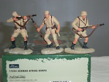BRITAINS 17254 GERMAN ARMY AFRIKA KORPS WORLD WAR TWO METAL TOY SOLDIER SET