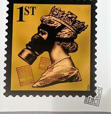 James Cauty, 1st Gold SMD illegal Terror Aware Queen copyright infringement.